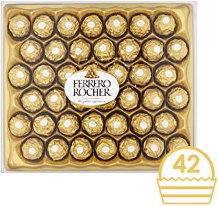 42 Ferrero Rocher Gift Set - now £9.50 @ Amazon (+£4.49 non-Prime delivery) with NO MINIMUM QUANTITY