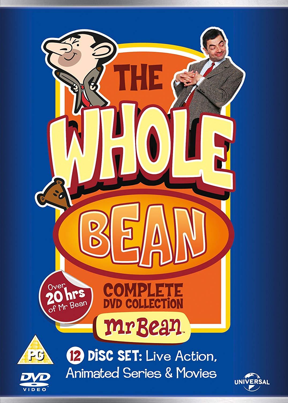 Mr Bean – The Whole Bean – Complete Collection DVD BOX SET £10 @ Amazon (£2.99 Non Prime)