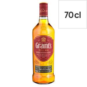 Grant's Triple Wood Blended Scotch Whisky 70cl £12 @ Tesco
