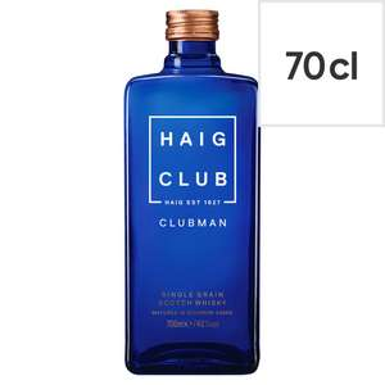 Haig Club Clubman Whisky 70Cl £15 down from £25 @tesco