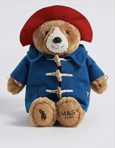 Paddington Bear Plush (33cm) £8.40 @ Marks & Spencer