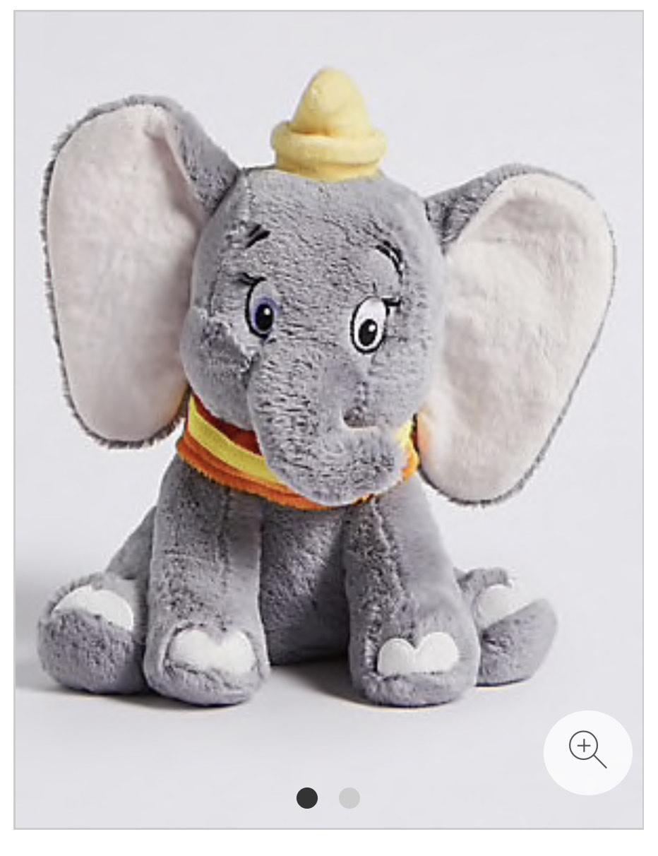 Disney Dumbo™ Soft Toy. £10.50 @ M&S