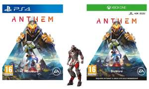 Anthem (PS4 / Xbox One) with Exclusive Edge of Resolve Skin - £4.99 @ Game (Free Click+Collect / or +£1.95 delivery)