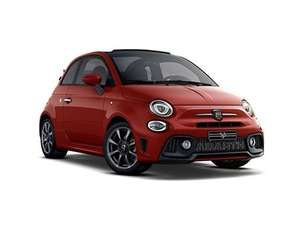 Abarth 595C Convertible Car 1.4 T-Jet 145 70th Anniversary 24 month lease £5,001.24 Nationwide Vehicle Contracts