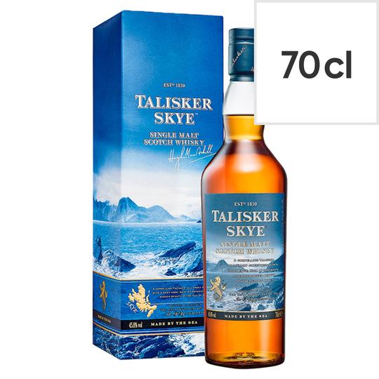 Talisker Skye Single Malt Scotch 70Cl - Smoky £26 Tesco