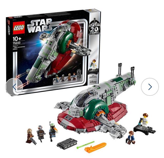 LEGO Star Wars Slave l 20th Anniversary Playset - 75243 £66.40 Argos