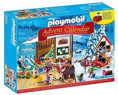 Playmobil 9264 Santa's workshop advent calendar £11.99 (Prime) / £16.48 (non Prime) at Amazon