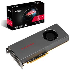 Asus Radeon RX 5700 8GB GDDR6 PCI-Express Graphics Card £314.99 from OCUK + £40 cashback