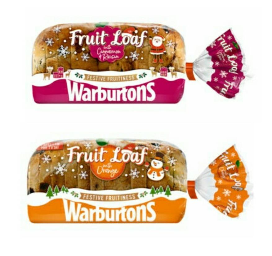 Warburtons Fruit Loaf £1 @ Asda - (Warburtons Fruit Loaf with Cinnamon & Raisin or Warburtons Fruit Loaf with Orange)