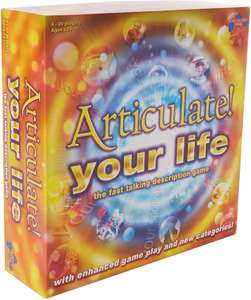 ARTICULATE YOUR LIFE Boardgame only £14.99 (Prime) £19.48 (Non Prime) @ Amazon