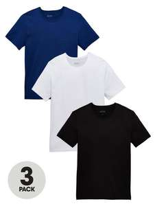 Hugo Boss 3 pack of T shirts £23.99 delivered @ Very
