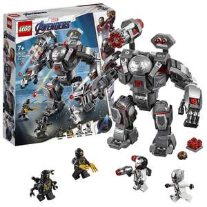 LEGO 76124 Marvel Avengers War Machine Super Heroes Playset £21.60 @ Amazon