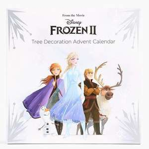 Frozen 2 Tree Decoration Advent Calendar £5 Marks & Spencer - Free Collect Plus