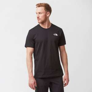 2 x North Face Men's t-shirts - Buy One Get One Half Price £23.10 + £1 c&c at Millets