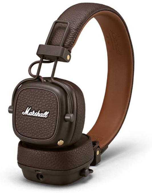 Marshall Major III Foldable Bluetooth Headphones - Brown & Black - £79 @ Amazon