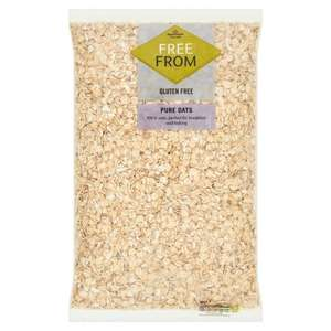 Morrisons Free From Gluten Free Pure Oats £1.20, reduced from £3.50