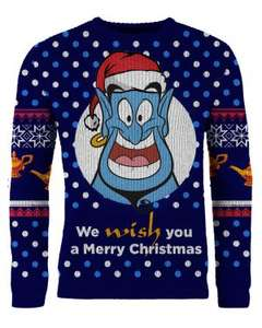 Official Knitted Disney Christmas Jumpers - Lion King/Aladdin/Beauty and the Beast 21.99 @ Merchoid + Free Shipping