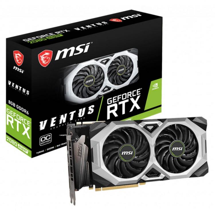 Msi geforce rtx 2080 super ventus xs oc 8gb gddr6 graphics card £619.99 @ Overclockers