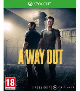 A Way Out Xbox One £8.25 Download Code from Amazon