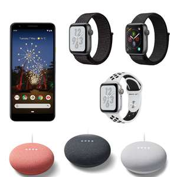 Currys Early Black Friday Deals - Google Nest Mini + HS100 Smart Plug £39.99 / Google Nest Mini £29 / APPLE Watch Nike+ Series 4 40mm £299