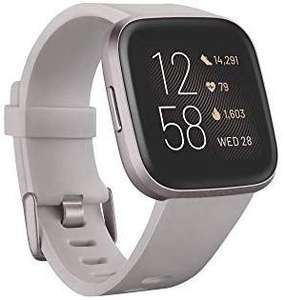 Fitbit Versa 2 Health & Fitness Smartwatch with Voice Control, Sleep Score & Music, Stone/Mist Grey £169.99 @ Amazon