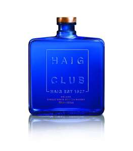 Haig Club Single Grain Scotch Whisky, 70cl £16 at Amazon Pantry (£3.99 Delivery)