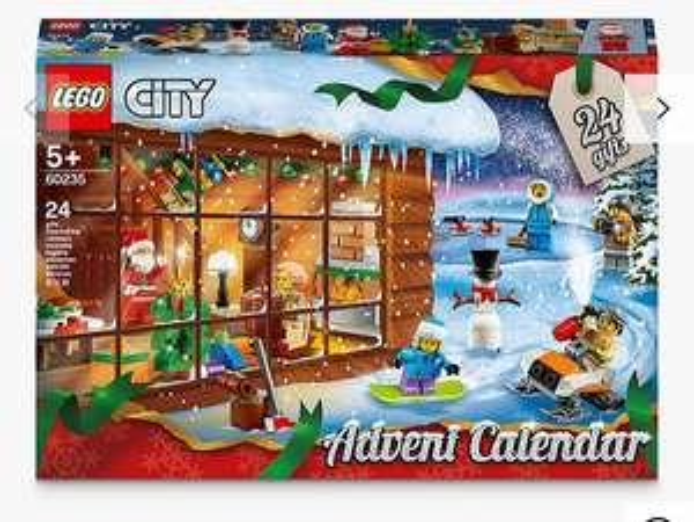 LEGO City 60235 Advent Calendar (£2 c&c) £15 @ John Lewis & Partners