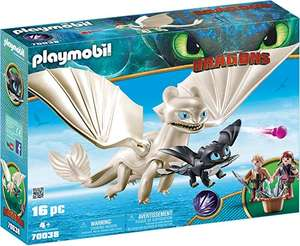 Dreamworks Dragons Light Fury with Baby Dragon and Children By PLAYMOBIL £17.49 + £4.49 delivery mom prime @ Amazon