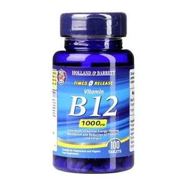Black Friday deal B12 supplements £6.89 @ Holland and Barrett