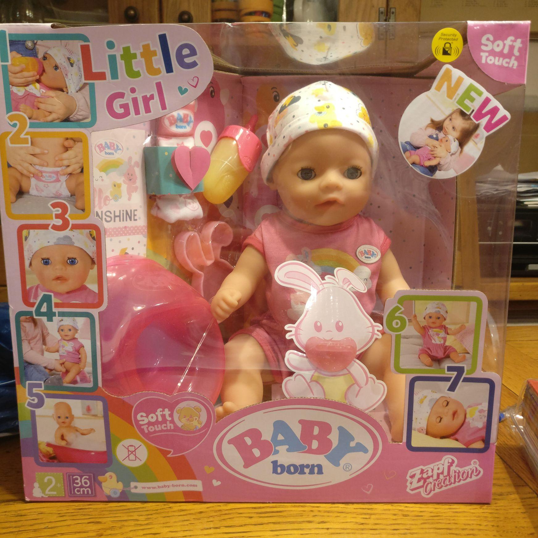 Baby Born Little Girl £17.50 @ Morrisons Thamesmead