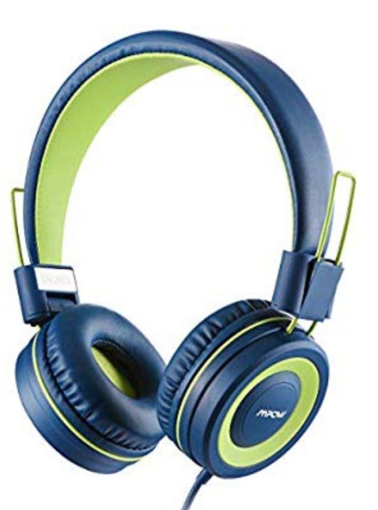 Kids Headphones, Mpow CH8 Children Headphone, Teens Toddler Earphone Study Headphone £8.79 @ Fulfilled By Amazon Mpow Store
