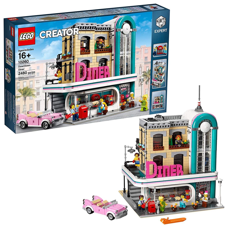 LEGO Creator Expert Downtown Diner 10260 £104 @ Hamleys