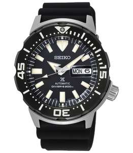 Seiko Prospex Monster Automatic Diver's Strap Watch SRPD27K1 - £277 at watcho.co.uk