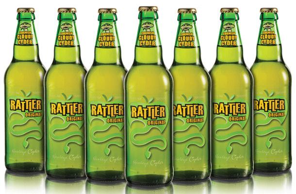 Rattler Cornish Cyder (Cider) 4 bottles £6 @ Asda, National.