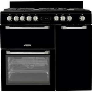 Leisure 100cm Dual Fuel Range Cooker with Easy Clean Enamel Interior £879 @ AO