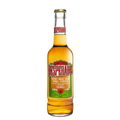 Desperados Tequila Flavoured Beer 12X250ml £12 for 12 bottles Or 24 bottles for £20 @ Tesco