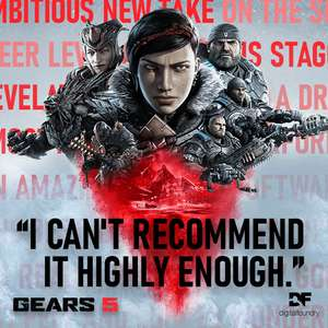 [Steam]: Gears 5 for PC £24.99