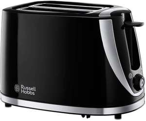 Russell Hobbs 21410 Mode 2-Slice Toaster, Plastic, Black [Energy Class A] £11.24 + £4.49 delivery Non prime @ Amazon