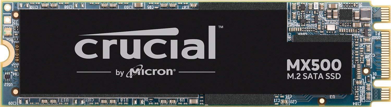 Crucial MX500 CT1000MX500SSD4 1 TB (3D NAND, SATA, M.2 Type 2280SS, Internal SSD) @ Amazon £95.86