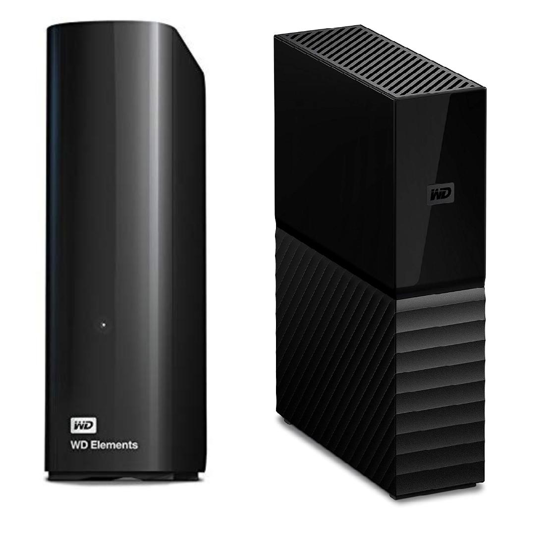 WD 6 TB My Book Desktop Hard Drive - Black for £85.99/WD 8TB Elements Desktop External Hard Drive - USB 3.0 for £114.99 Delivered @ Amazon