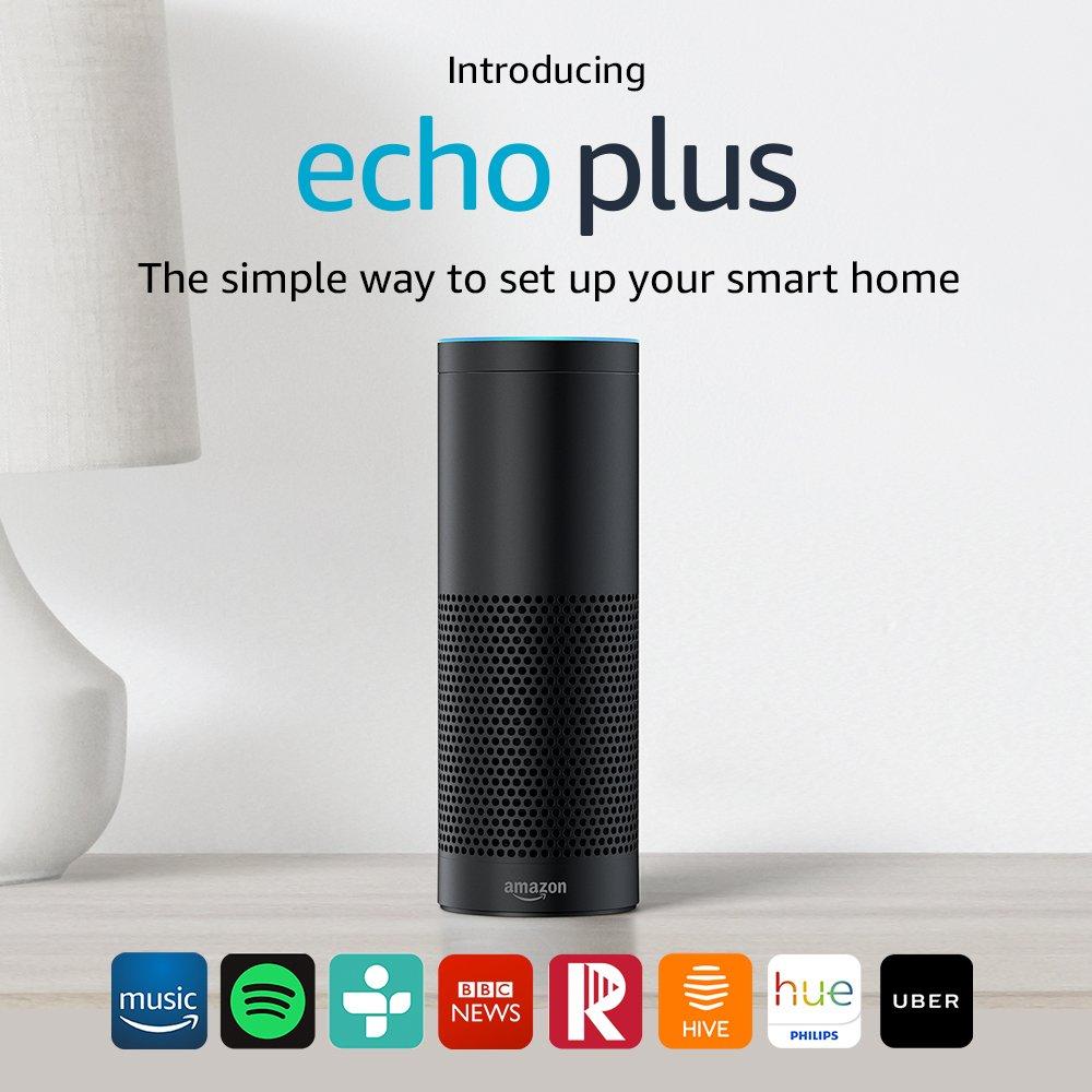 Amazon Echo Plus (1st Gen) - £44.99 Delivered @ Amazon