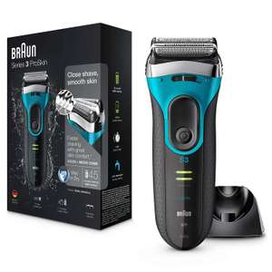 Braun Series 3 ProSkin 3080s Electric Shaver, Wet and Dry Electric Razor for Men with Pop Up Precision Trimmer and Charging £49.99 @ Amazon