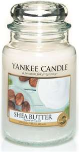 Yankee Candle Large Jar Scented Candle, Shea Butter £11.99 + £4.49 delivery NP @ Amazon
