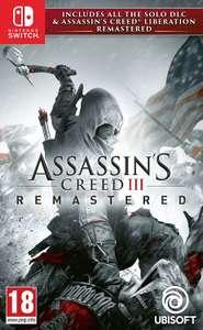 Assassin's Creed III Remastered (Nintendo Switch) from Amazon £21.99
