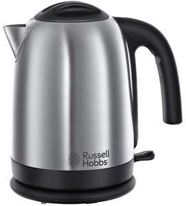 Russell Hobbs 1.7 Litre, 3000 W Kettle 20070, Brushed Stainless Steel Silver £10.43 with prime @ Amazon Warehouse - Like New