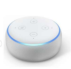 Amazon Echo Dot (3rd Gen) All Colours £22.00 and with Clock £34.99 @ Argos