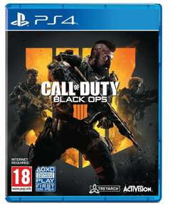 Call of Duty Black Ops 4 (PS4) - £11.99 + £2.99 NP @ Amazon
