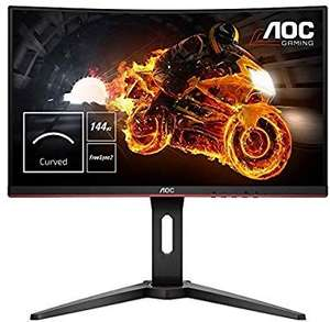 "AOC C24G1 24"" Curved VA LED FHD FreeSync 144Hz Height Adjustable Gaming Monitor. (VGA, HDMI X 2, Displayport) - £134.99 @ Amazon"