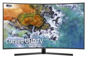 Samsung UE49NU7500 49-Inch Curved Dynamic Crystal Colour 4K Ultra HD Certified HDR Smart TV - Charcoal Black (2018 Model) £429 @ Amazon