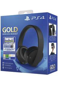 Sony Gold Black Wireless 7.1 Gaming Headset - Fortnite Neo Versa Bundle PS4 @ amazon - £49.99